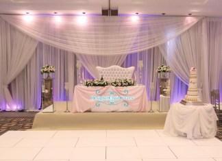 wedding stage nigerian