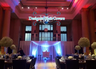 luxury wedding backdrop