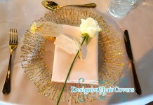 gold cutlery wedding