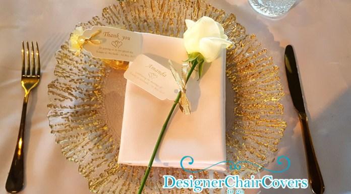gold cutlery wedding