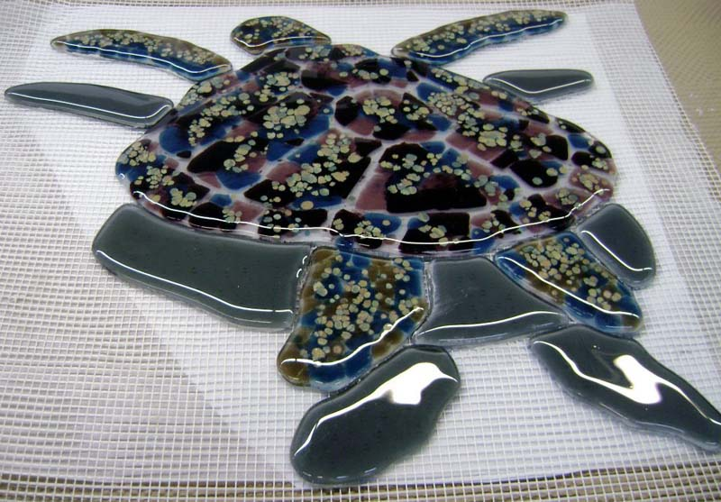 Glass Mosaic Turtles For Swimming Pool Designer Glass