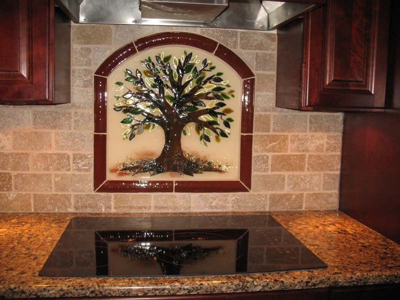 Designer Glass Mosaics Kitchen Backsplash