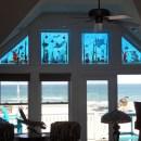 Nautical Glass Transom Windows