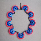 Ciara Bowles Mini Cuke Blue Necklace