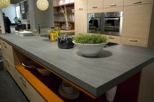 Kitchen Counter made with Neolith