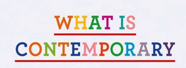 what is contemporary?
