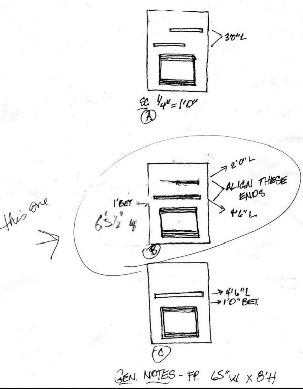 ruff sketch client presentation