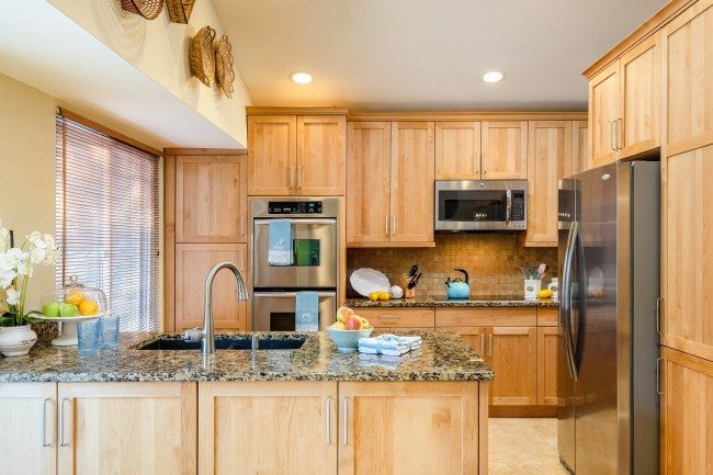 after simple kitchen remodel