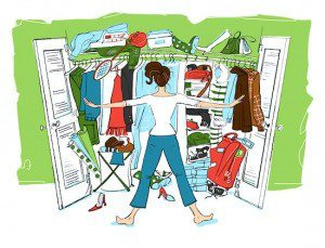cluttered-closet the Magic Of Tiding Up