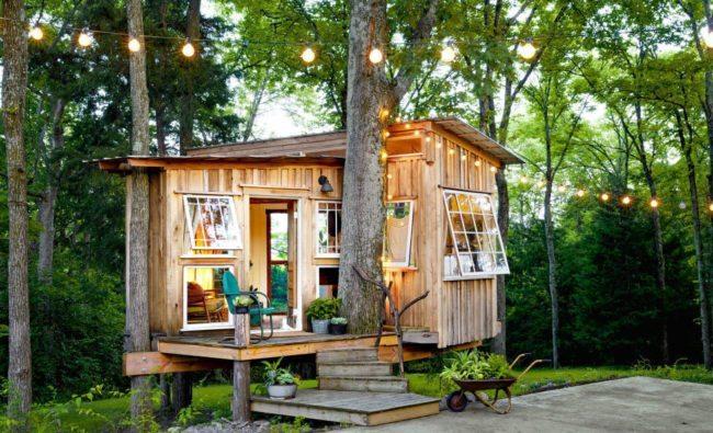 Cabin style Tiny House