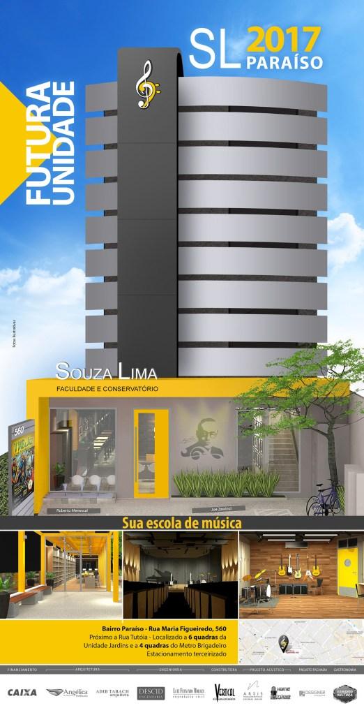 Projeto nova unidade Souza Lima Paraíso