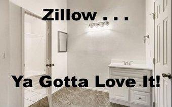 Zillow . . . Ya Gotta Love It!