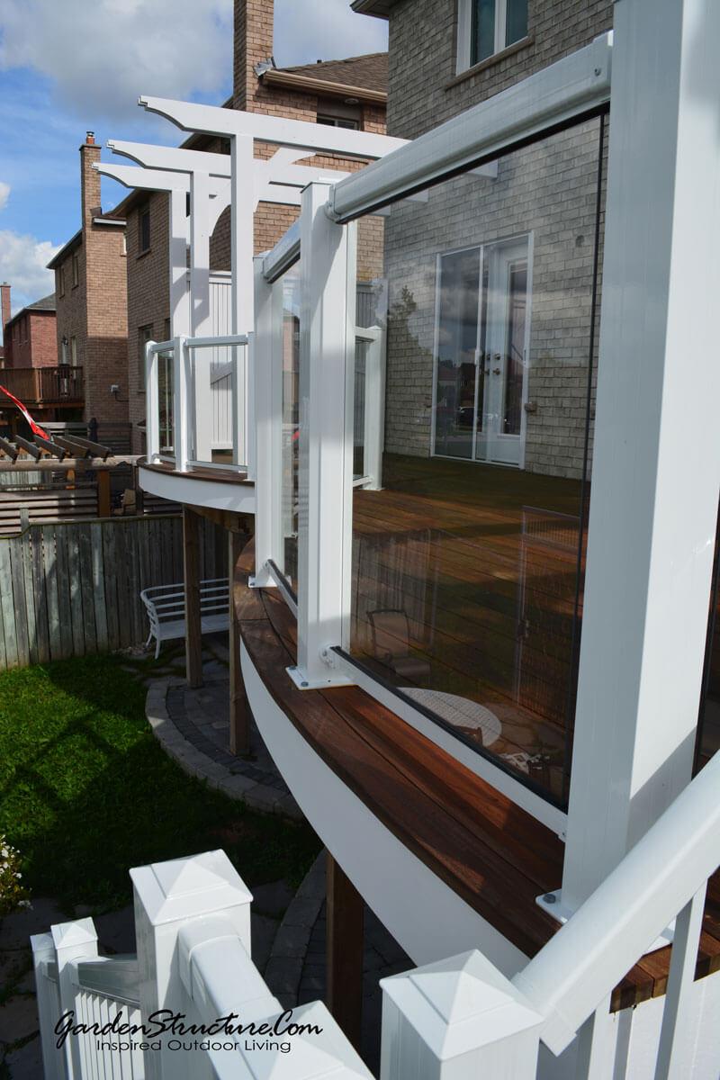 curved decks details