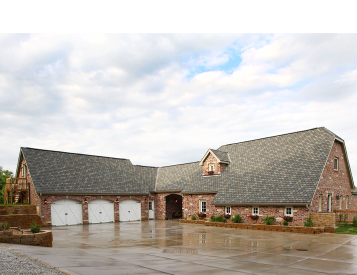 Dutch Style Is Enhanced A Rural Nebraska Home The