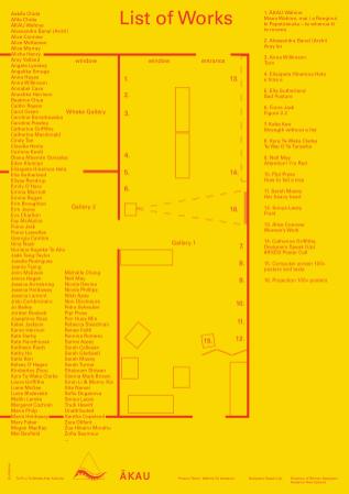 Te Pū o Te Wheke Arts Works List