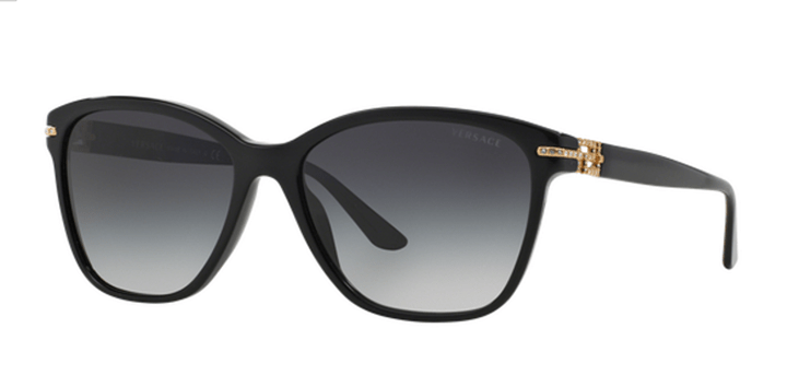 Ladies Versace Sunglasses VE4290B GB1/8G Black