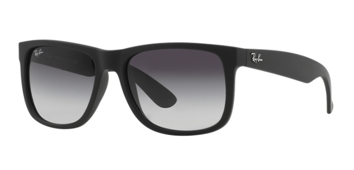 Ray Ban Justin Sunglasses RB4165 601/8G Black