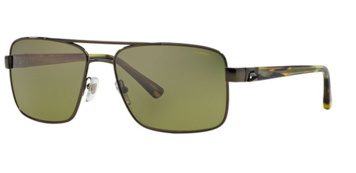 Mens Polarized Versace Sunglasses VE2141 1187M9 Dark Green