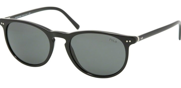 Polo Ralph Lauren Sunglasses PH4044 500187 Shiny Black