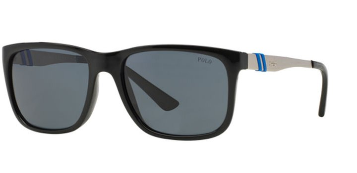 Polo Ralph Lauren Sunglasses PH4088 500187 Shiny Black