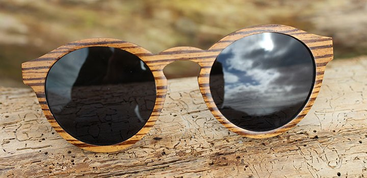 Zebrawood Wooden Sunglasses | DSUK Woods