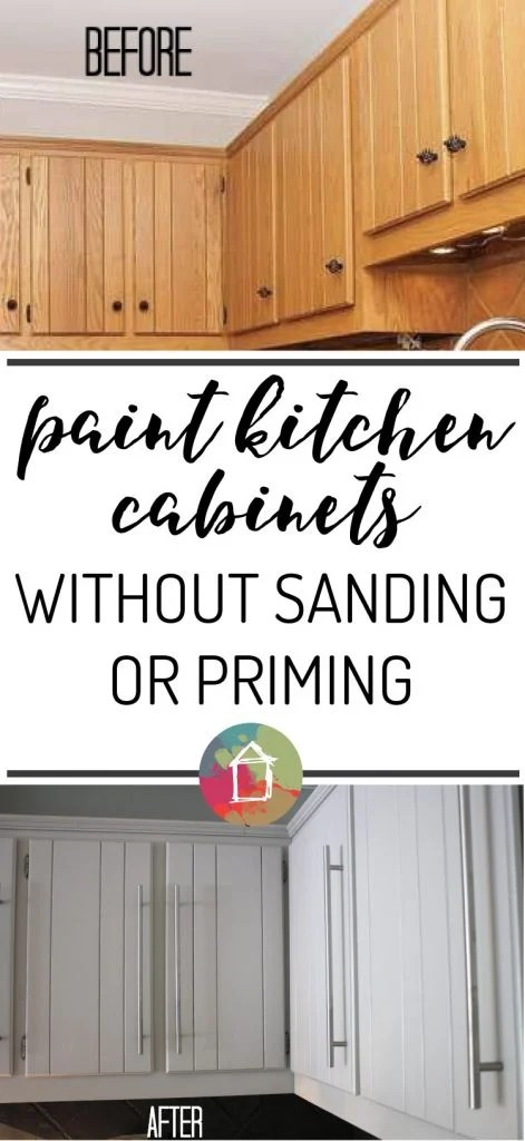 No Way You Can Paint Your Kitchen Cabinets Without Sanding Or Priming That Makes