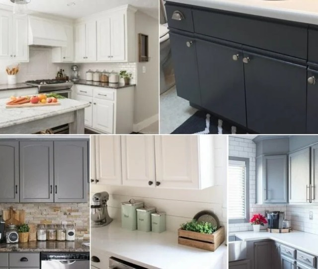 The Best Paint For Kitchen Cabinets  Cabinet Transformations Designer Trapped