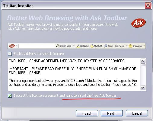 Don't Ask.com me, please