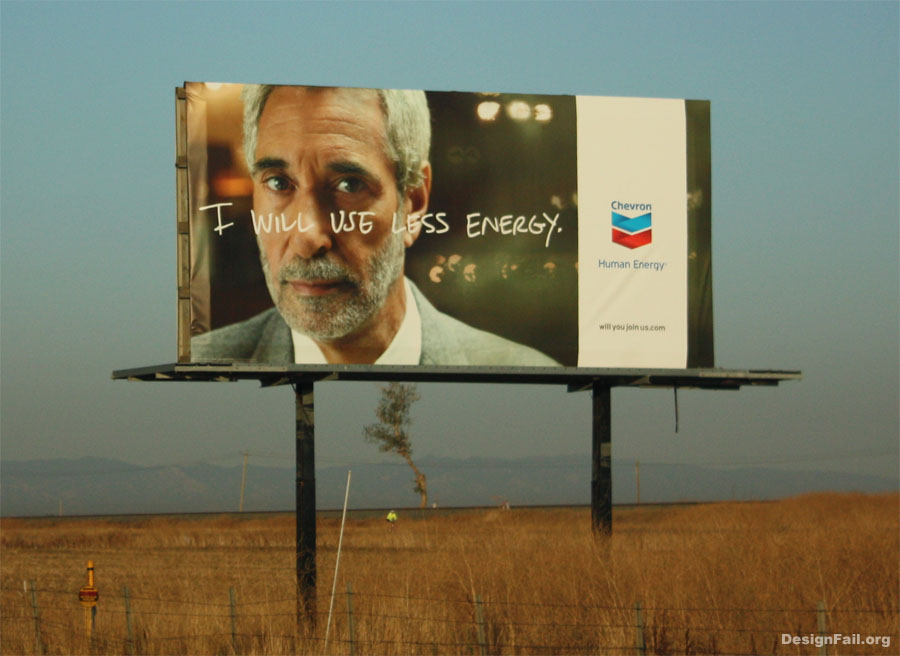 Chevron's ad