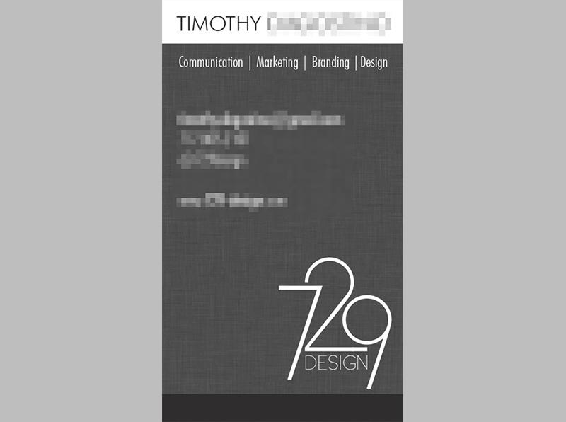 729 design business cards firebrand design 729 design business cards software adobe indesign reheart Choice Image