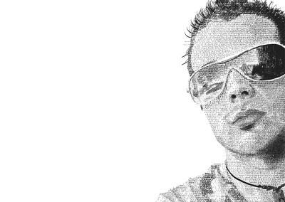 Self-Portrait Graphic