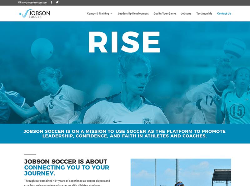Jobson Soccer Website