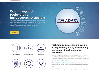 Teladata Website