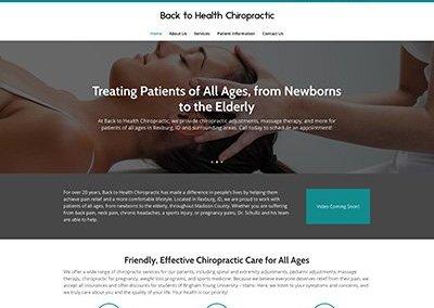 Back to Health Chiropractic Website