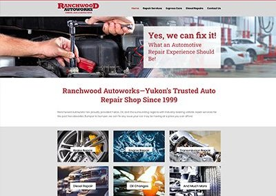 Ranchwood Autoworks Website