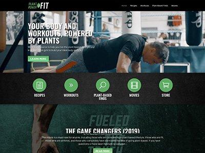 Plant Power Fit Website