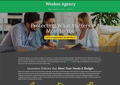 Weekes Agency Website