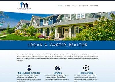 Logan A. Carter, Realtor Website