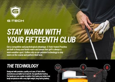 G-Tech Apparel Golf One Sheeter