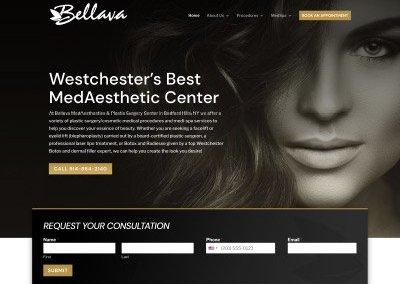 Bellava MedAesthetics & Plastic Surgery Center Website