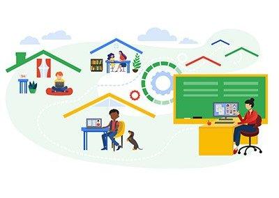 Google Cloud Classkick Case Study Illustration