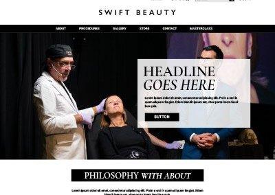 Swift Beauty Website