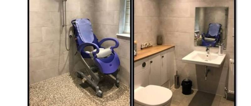 Our accessible wet room