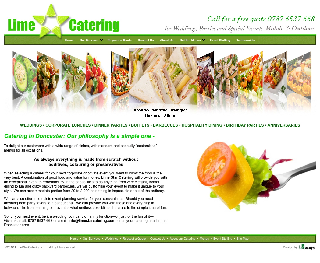 Lime Star Catering
