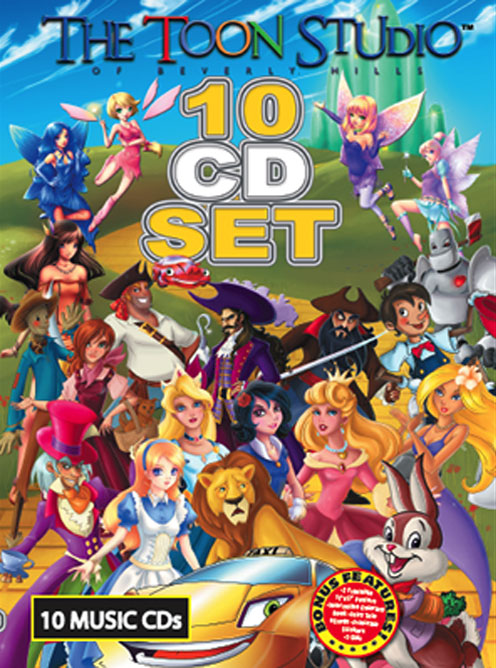 The Toon Studio CD Box Set