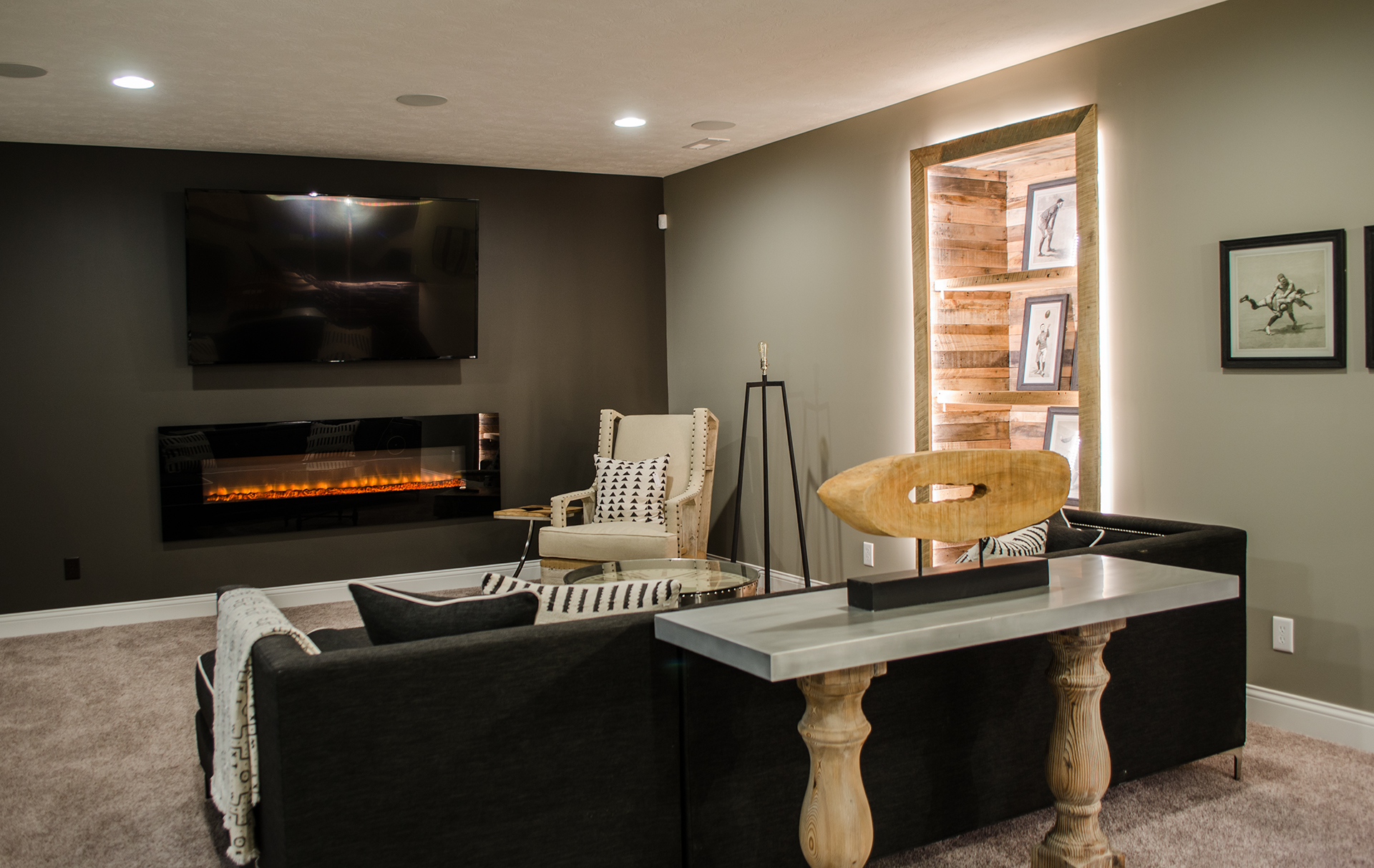 Lower Levels Design Homes