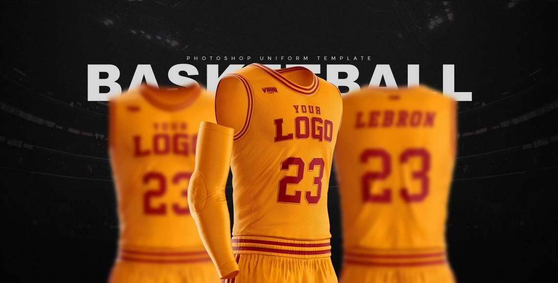 Download Basketball Uniform Jersey Mockup Freebie - DesignHooks