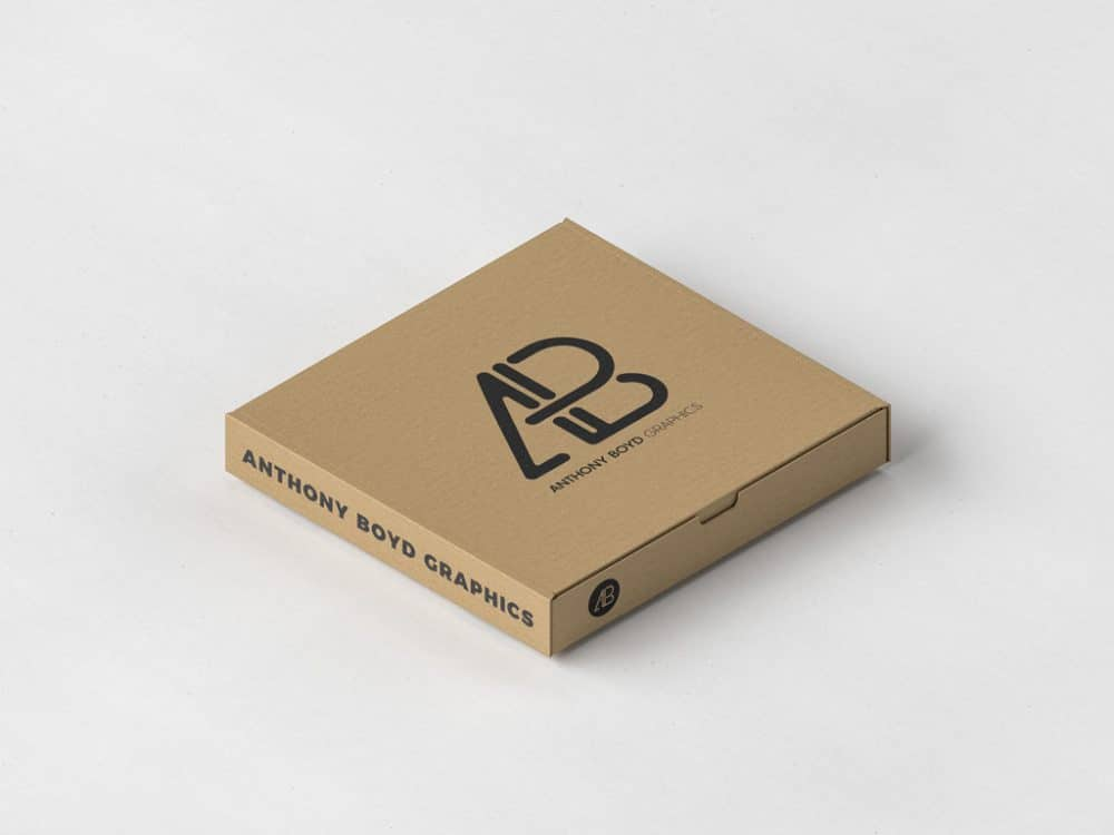 Download Free Pizza Box Packaging Mockup - DesignHooks