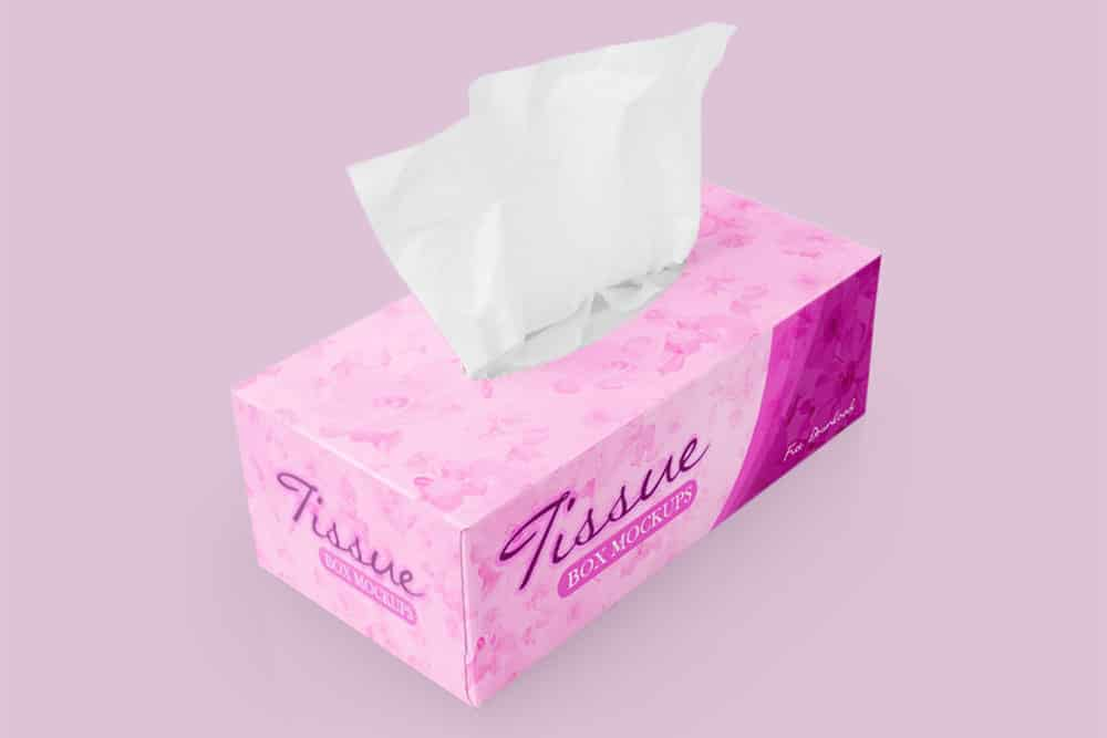 Download Download This Free Tissue Box Mockup in PSD - Designhooks