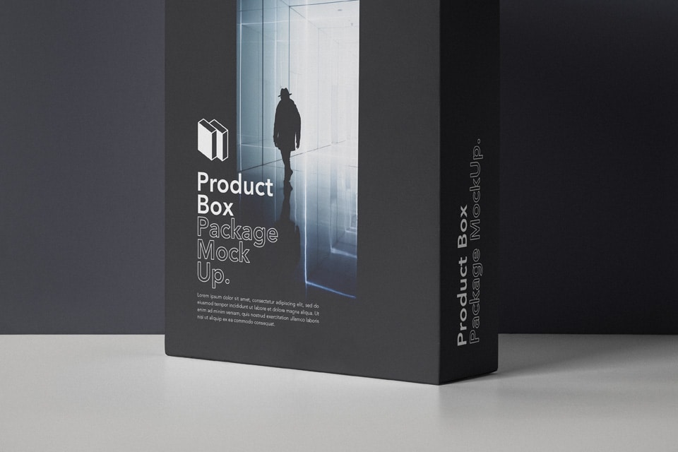Download Product Box Package PSD Mockup Download for Free - DesignHooks